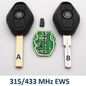 BMW EWS raktas