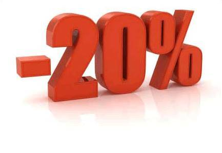 20% Nuolaida!