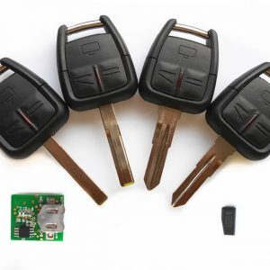 OPEL Astra Zafira Vectra Omega Frontera trijų mygtukų raktas